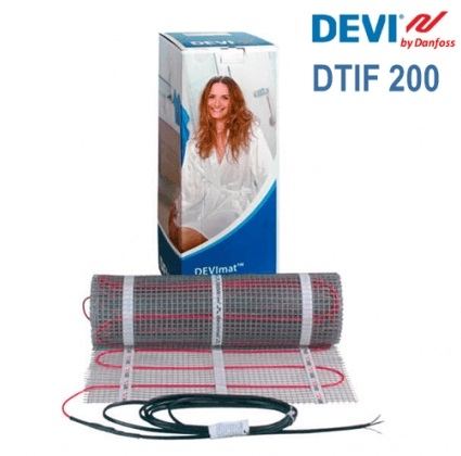 DEVImat DTIF-200 - 7,8 м.кв.